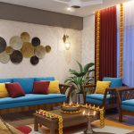 living-room-diwali-decoration